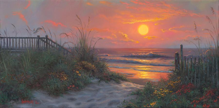 great beach scene