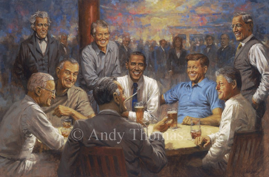 The Democratic Club by Andy Thomas