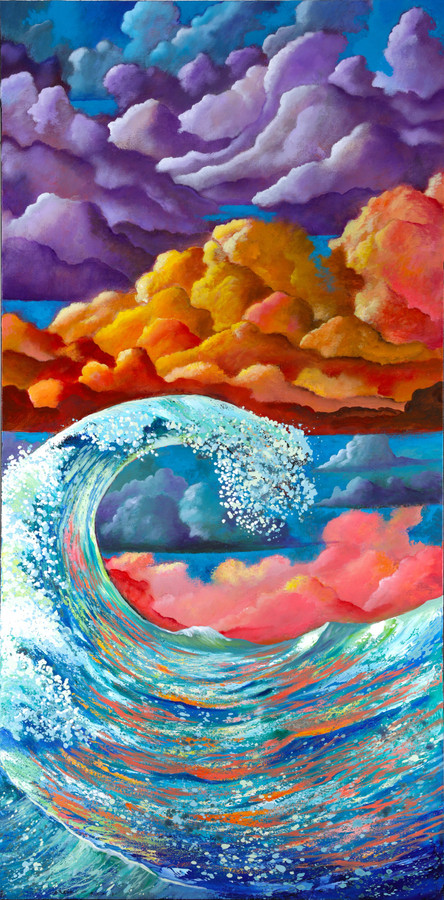 Ocean Jazz by Ford Smith | Embellished Giclee