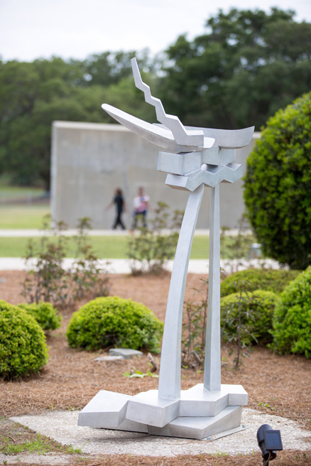 Best of Show in the 2017-2018 National Outdoor Sculpture Show in North Charleston, SC.