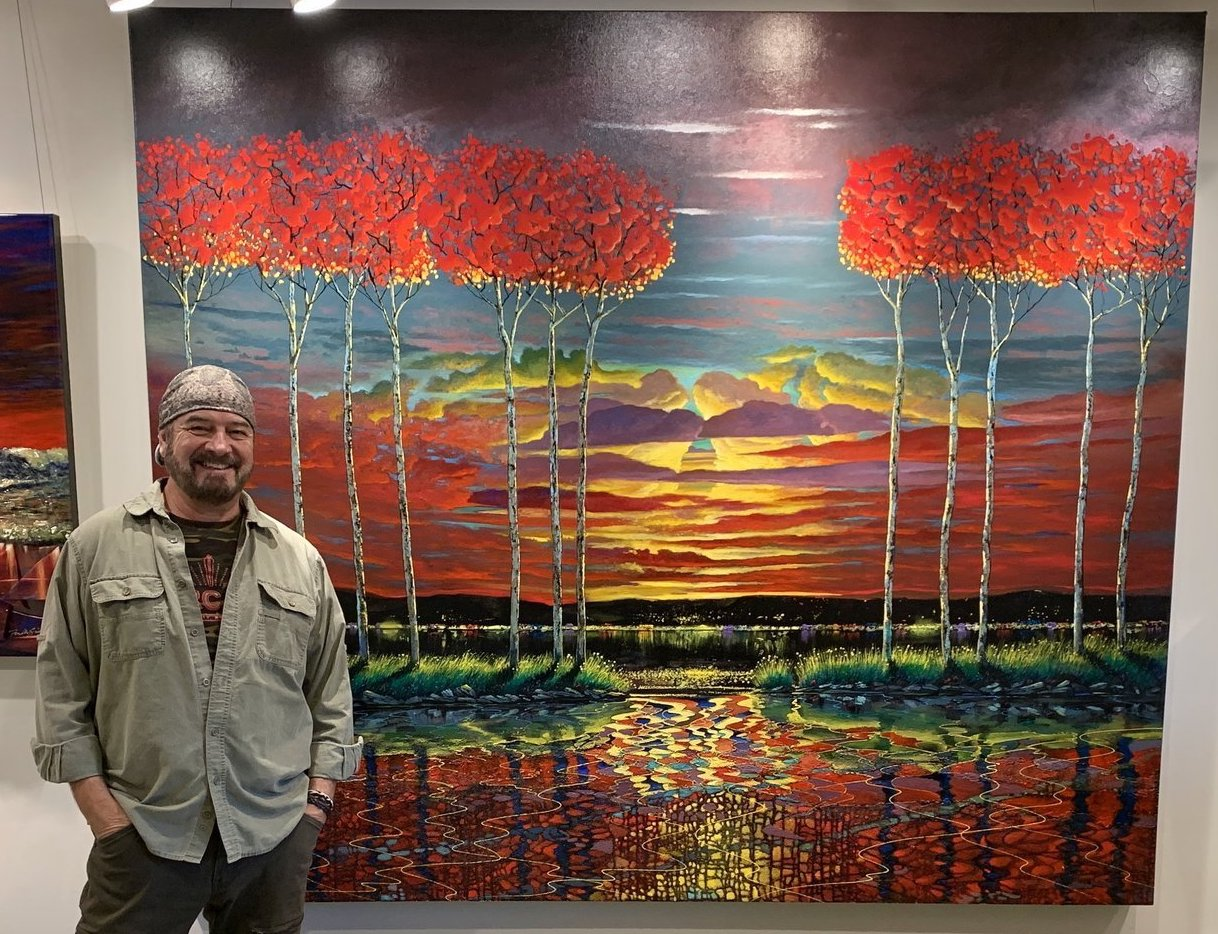 Meet Ford Smith at Ashley's Art Gallery, Fuquay-Varina, NC