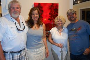 Ford and Cristi Smith with his collectors