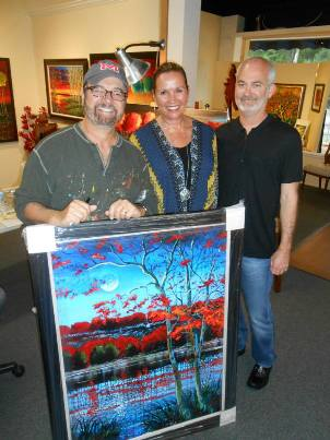 Ford Smith art fans