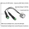 Touch Sensor Dimmer Switch Button for LED Strip Lights - No Moving Parts