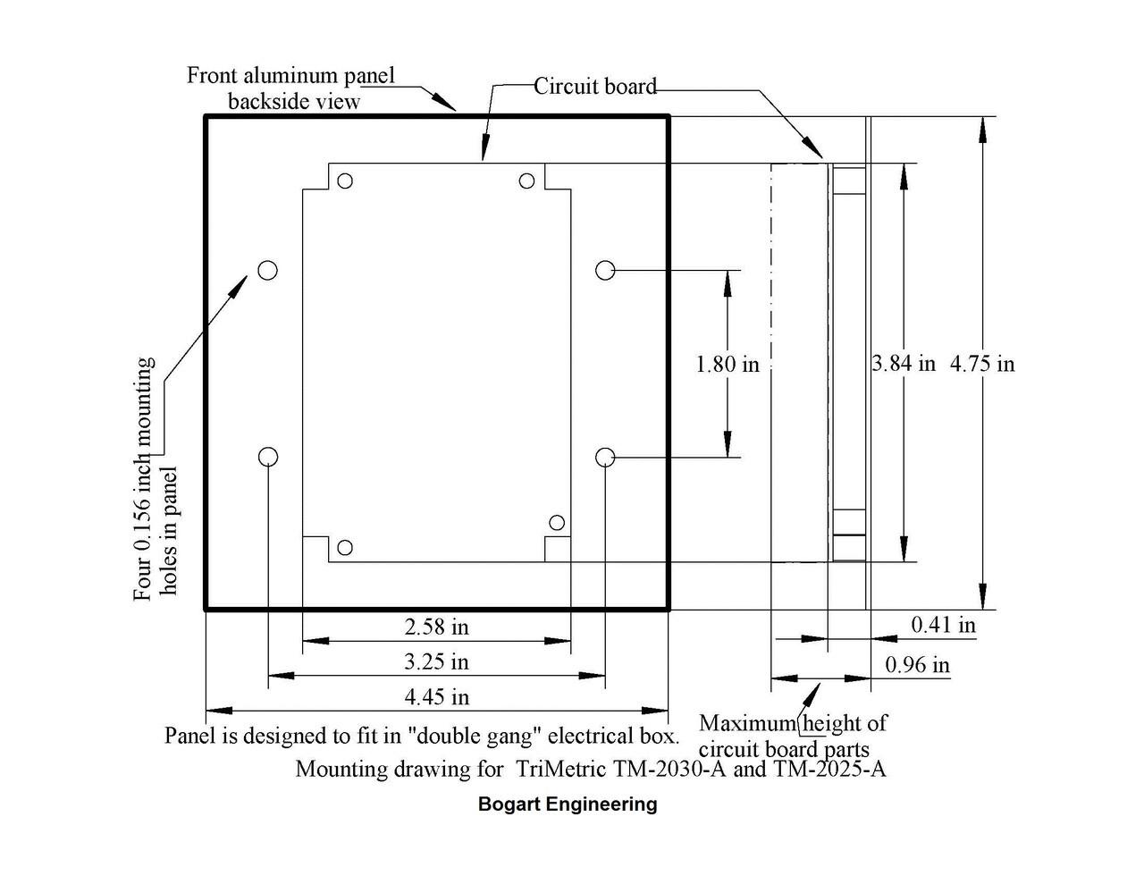 Bogart Trimetric TM-2030-RV-F Amp Hour Meter Energy Controllers ...