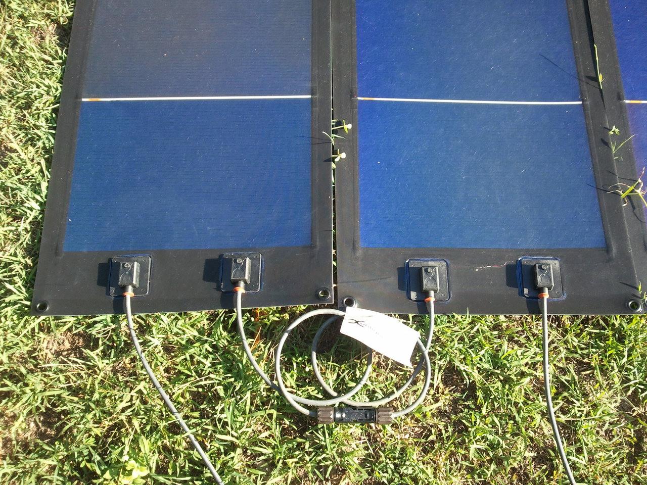 Rolasolar 100 Watt Rollable Flexible Solar Charge Kit