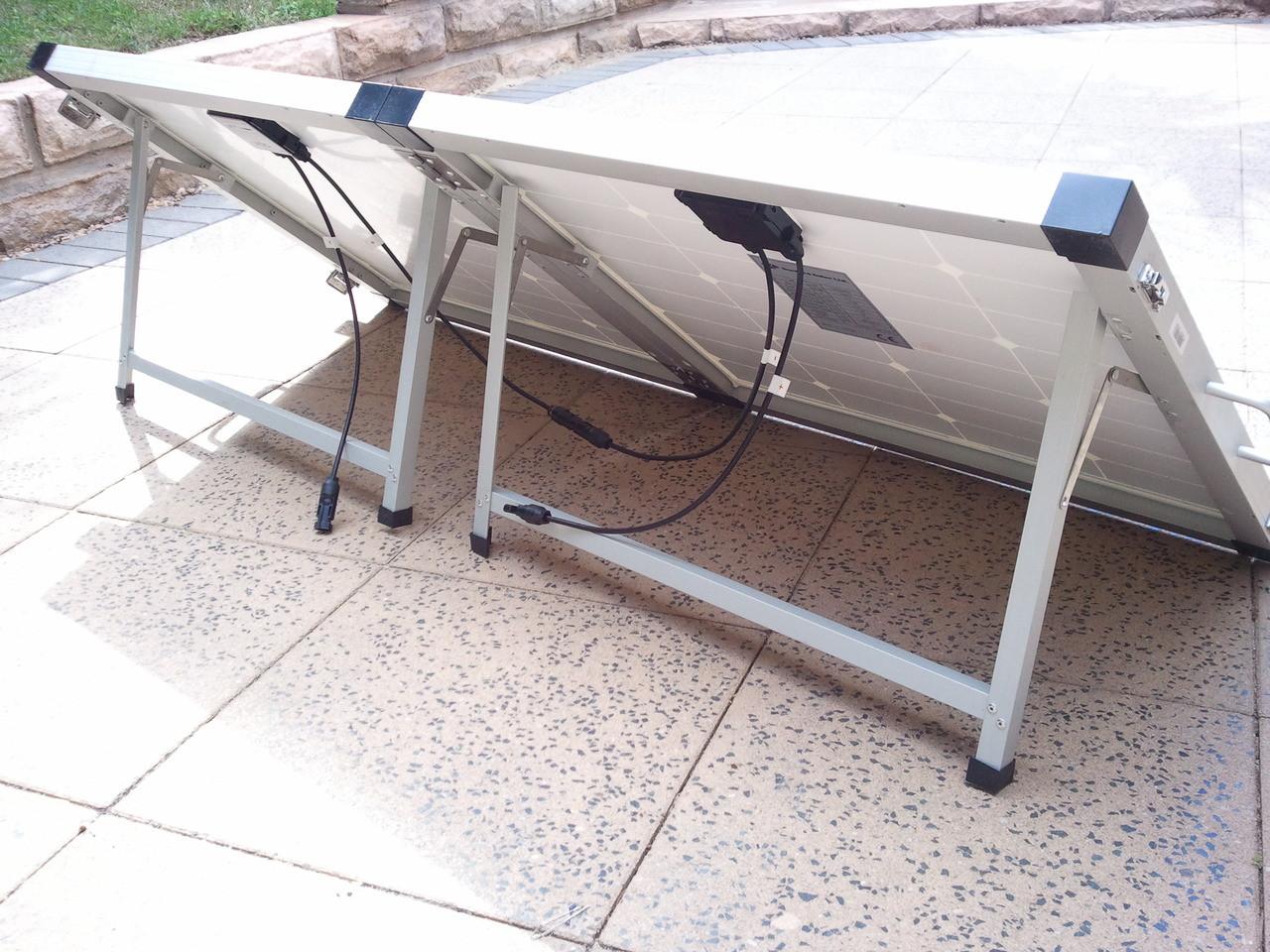 120 Watt Foldable Solar Panel - DEMO - USED