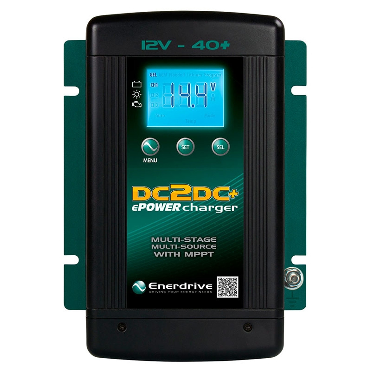 Enerdrive 12V 40A+ DC2DC Battery Charger (EN3DC40+)