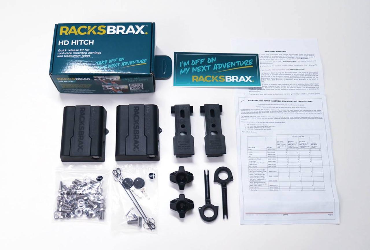 RacksBrax HD Hitch Standard Pack