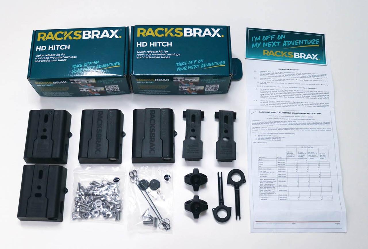 RacksBrax HD Hitch Tradesman II Pack