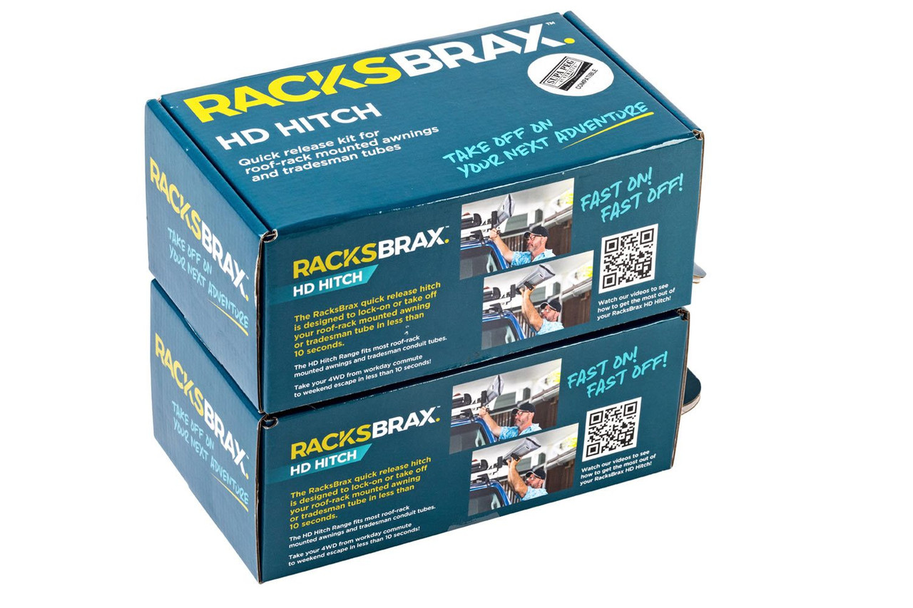 RacksBrax HD Hitch Tradesman III Pack (Supa Peg Model)