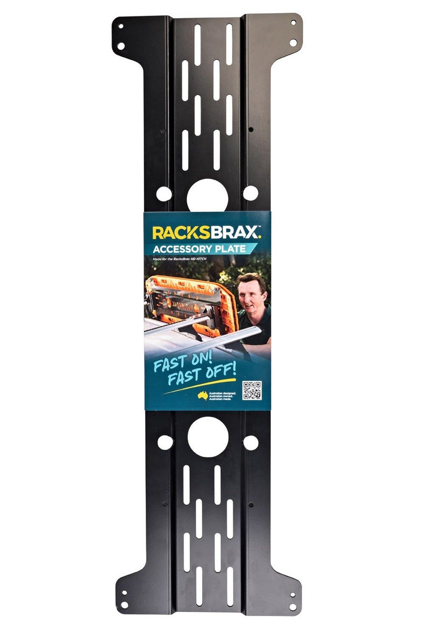 RacksBrax HD Hitch Accessory Plate
