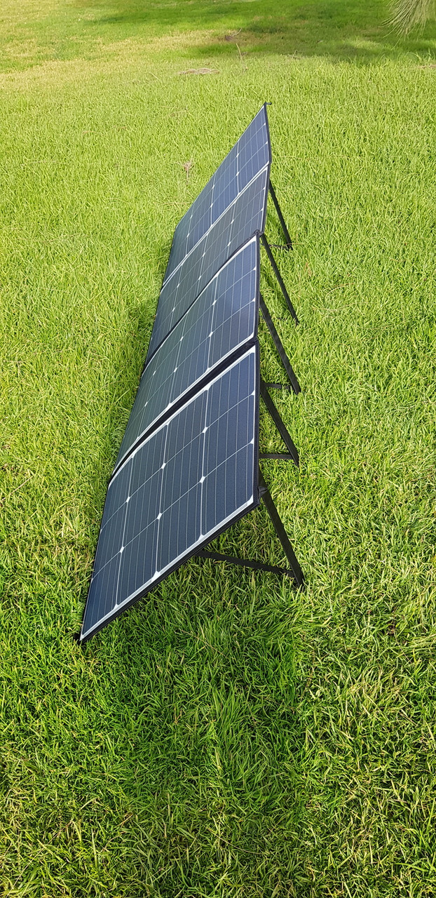 SunMan 235W Portable Folding Solar Blanket - 5 Year Warranty - Only 7kg!