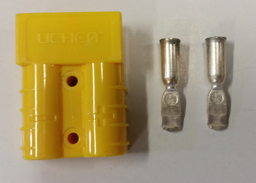 Anderson Type Connector - Yellow