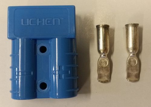 Anderson Type Connector - Blue