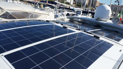 Semi Flexible Polycrystalline Solar Panel - Gioco Solutions GSP-145-A