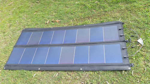 Rolasolar 100 Watt Rollable Solar Charge Kit Blanket Awning