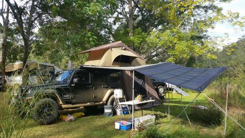 Rolasolar 200 Watt  Rollable Solar Charge Kit Blanket Awning