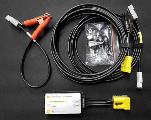 140W 10.5A MPPT Portable Solar Panel Upgrade Kit - Pb - Kit
