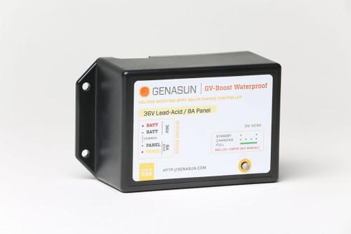 GVB-8-WP   350W 8A 48V Genasun Waterproof MPPT Boost Solar Charge Controller - Li