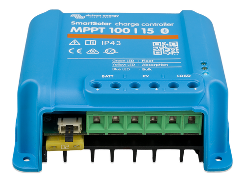 Victron SmartSolar MPPT 100/15 Solar Charge Controller - Front