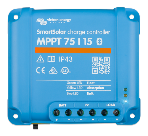 Victron SmartSolar MPPT 75/15 Solar Charge Controller - Top