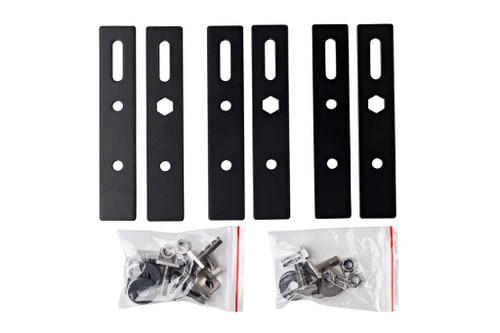 RacksBrax HD Awning Adaptor Bars (80-105mm Track Spacing) (Triple)