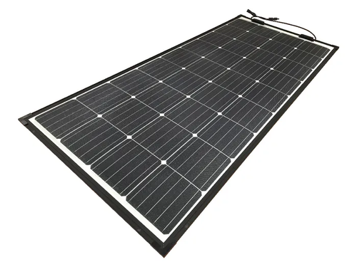 eArc 175W - Semi-Flexible Solar Panel - Thin Frame - Junction Box on Top