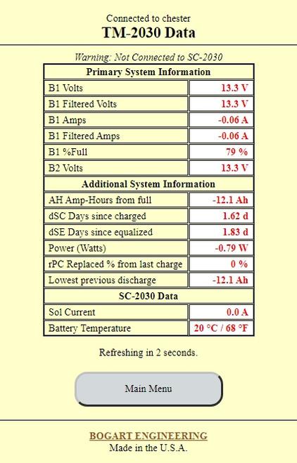 WF-2030 | Bogart Trimetric WIFI Module