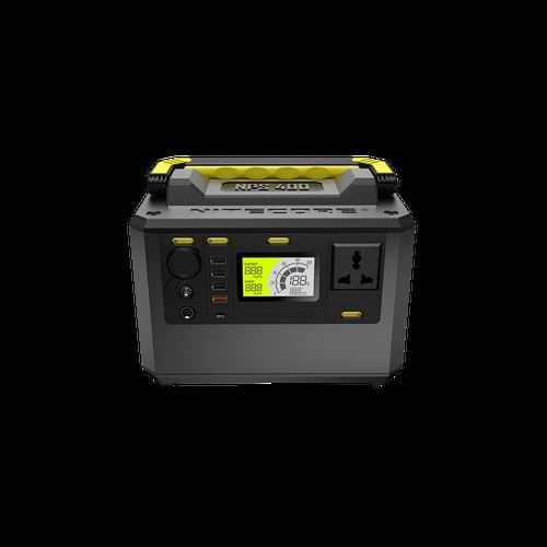 NPS400+FSP100   Nitecore Portable Solar Generator Bundle