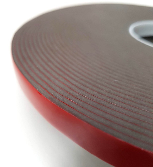 Roll of Acrylic VHB Double-sided Foam Tape H 2.3mm x W 12mm x L 16.5m