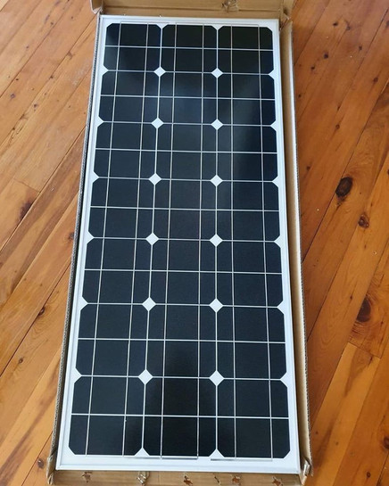 12v 340w Mono Folding Solar Panel Kit Caravan Power Charging Battery