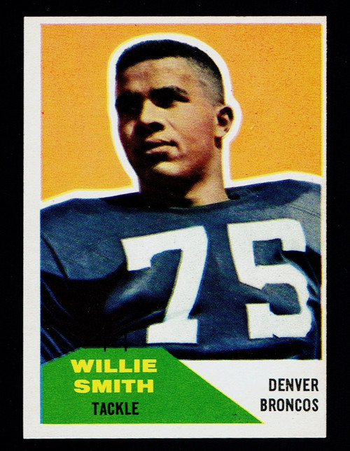 1960 Fleer #047 Willie Smith EXMT