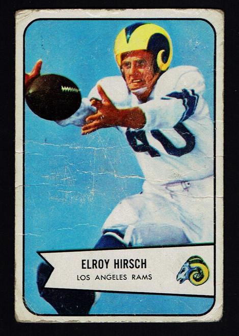1954 Bowman #32 Elroy Hirsch Poor