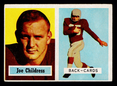 1957 Topps #100 Joe Childress VGEX