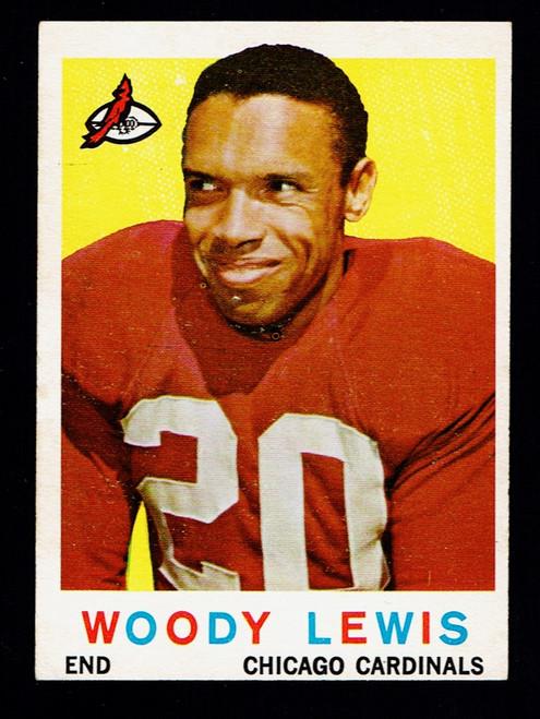 1959 Topps #045 Woody Lewis EX