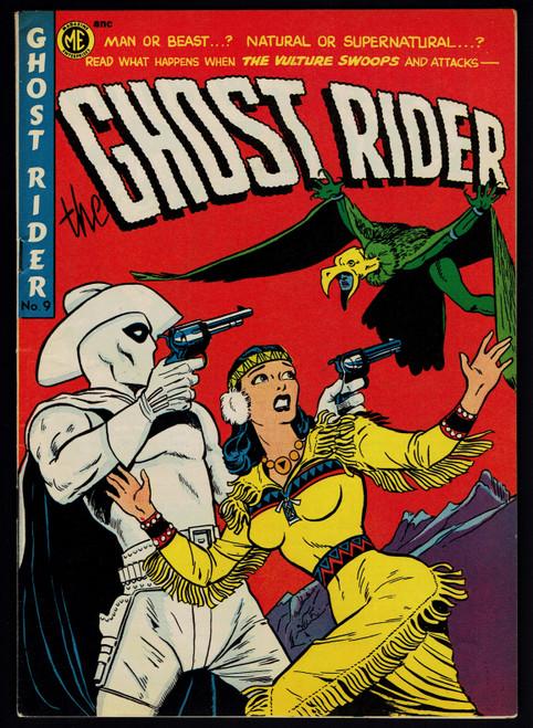 1952 Magazine Enterprises Ghost Rider #9 FN+