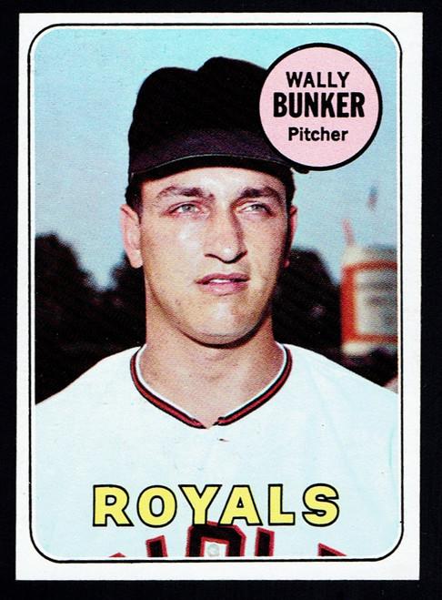 1969 Topps #137 Wally Bunker EXMT+