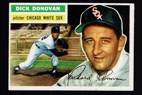 1956 Topps #018 Dick Donovan GB VGEX