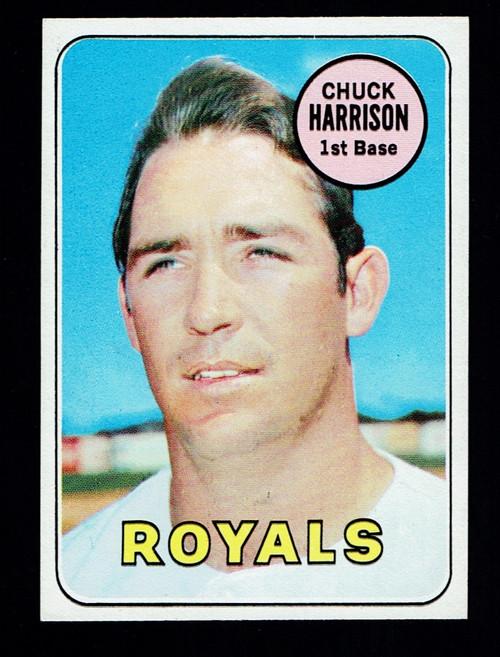 1969 Topps #116 Chuck Harrison EXMT+