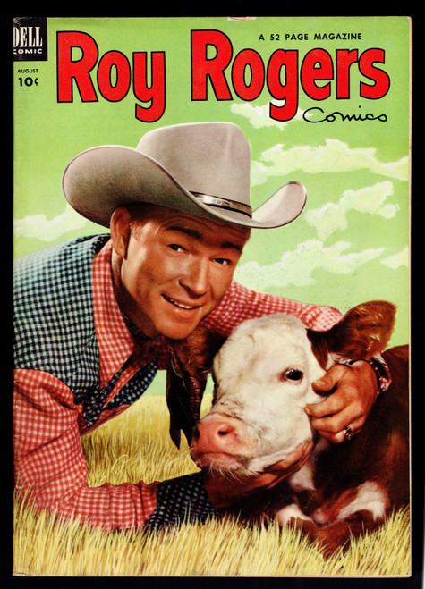 1953 Dell Roy Rogers #68 GD