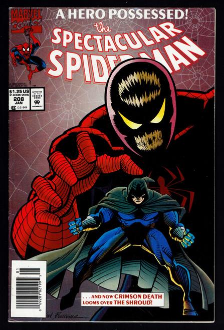 1993 Marvel The Spectacular Spider-Man #208 VF-