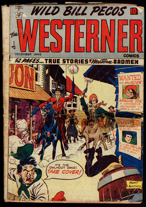 1949 Patches The Westerner #24 Poor