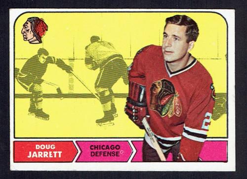 1968 Topps #013 Doug Jarrett VGEX
