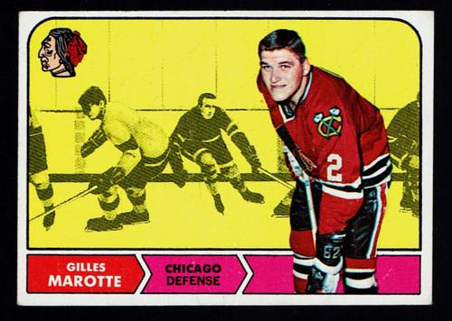 1968 Topps #014 Gilles Marotte VG