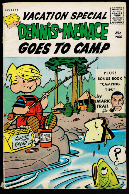 1966 Fawcett Dennis the Menace Giant Goes To Camp #39 GD