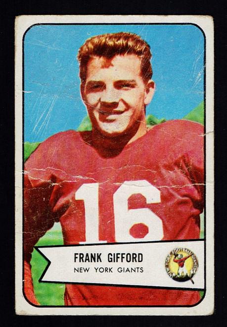1954 Bowman #55 Frank Gifford Poor B
