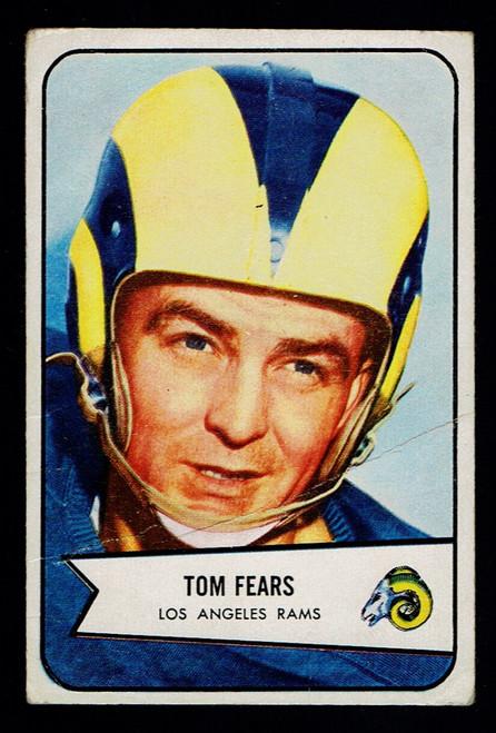 1954 Bowman #20 Tom Fears  Poor