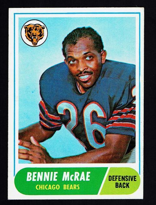 1968 Topps #179 Bennie McRae EX