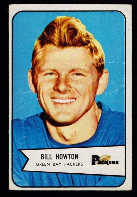 1954 Bowman #34 Bill Howton Poor